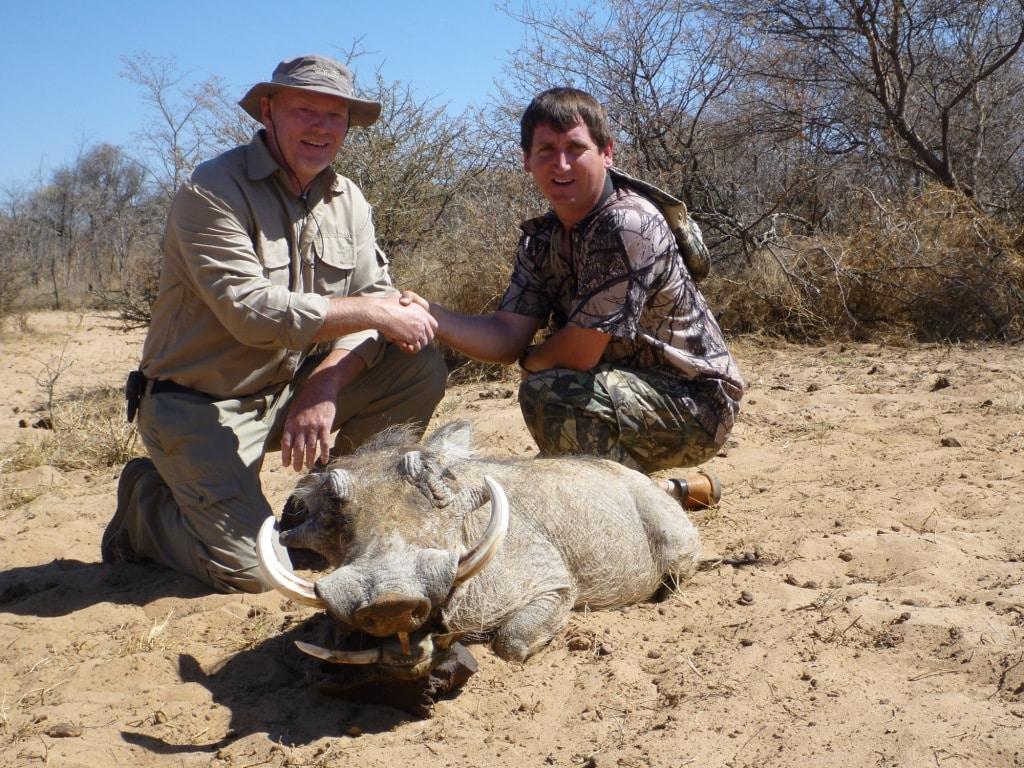 jagt og jagtrejser Afrika Namibia